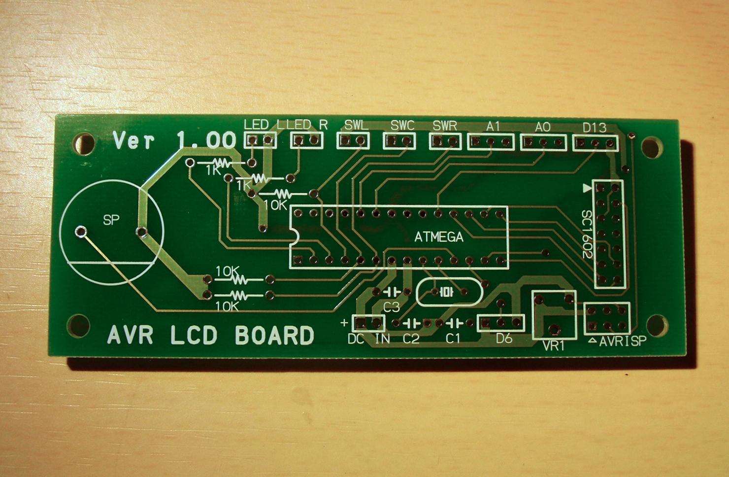 AVR I/O Board