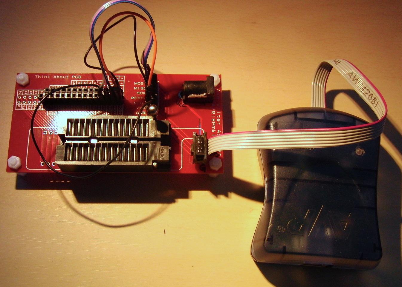 汎用AVR ライター基板