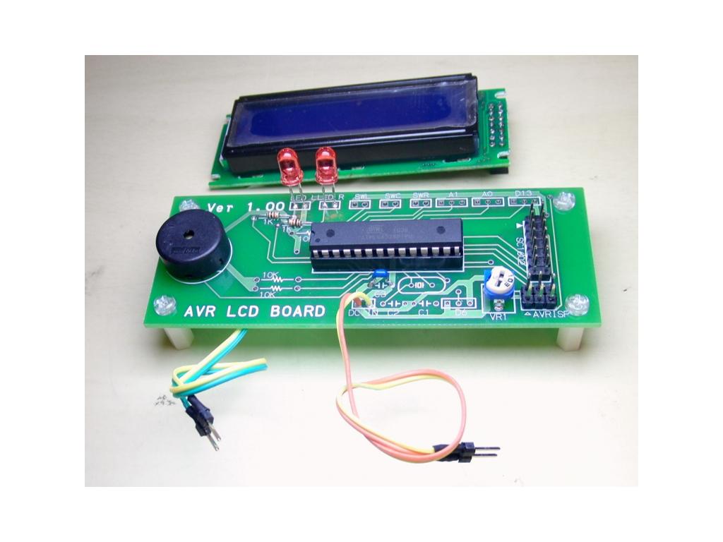 I2Cインターフェイス基板 LCD16x2付き (キット)